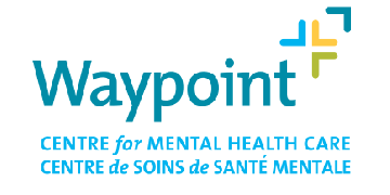Waypoint Centre for Mental Health Care logo