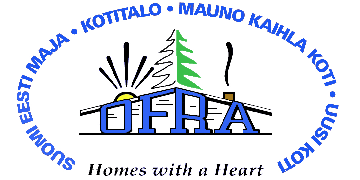 The Ontario Finnish Resthome Association logo