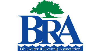 Bluewater Recycling Association logo