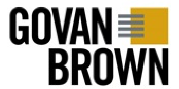 Govan Brown Construction Managers logo