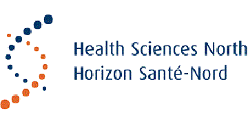 Health Sciences North / Horizon Santé-Nord logo